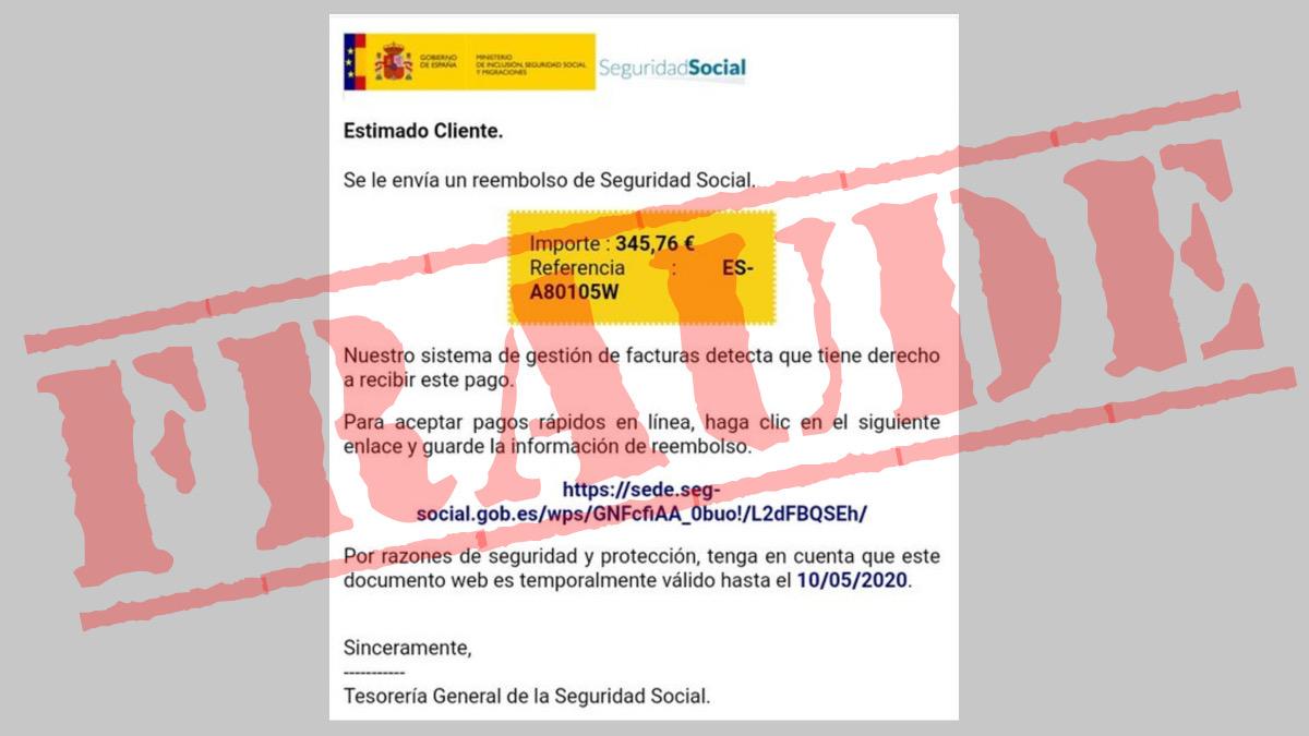 El SEPE alerta de una estafa donde se suplanta a la Seguridad Social vía correo electrónico